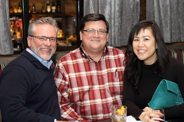 kevin unterborn kris igmanson and angie whang - impelix sd-wan event with velocloud - april 2018 chicago